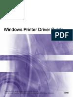 Win Printer Driver Guide