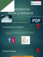 Incontinencia Fecal y Urinaria