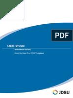 MTS-5800 User Manual Ethernet Testing En