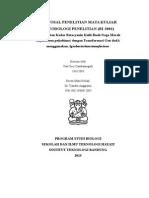 PROPOSAL PENELITIAN MATA KULIAH METODOLOGI PENELITIAN (BI-3001) Peningkatan Kadar Betacyanin Kulit Buah Naga Merah (Hylocereus polyrhizus) dengan Transformasi Gen dodA menggunakan Agrobacterium tumefaciens