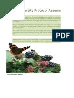 Biodiversity Assessment Tool