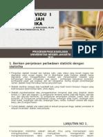 Tugas Mata Kuliah Statistik