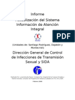 Informe Actualización del Sistema de Atención Integral (SIAI)