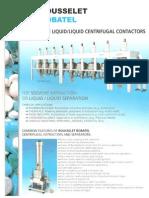 Monostage Centrcentriguifugal Contactors BXP Eng (1)