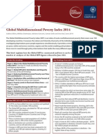 Global MPI 2014 an Overview