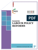 Ficci Note on Labour Policy Reforms