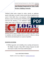 LSJ1501 - A-Distortion Resistant Routing Framework for Video Traffic in Wireless Multihop Networks