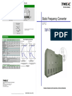 Static Frequency Converter - TS150