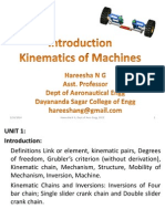 Unit-1-Introduction to Kinematics of Machines