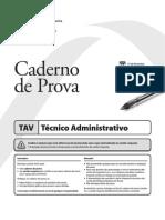 Fepese 2013 Dpe Sc Tecnico Administrativo Prova