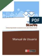 Manual Registro SISEVE