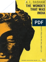 The Wonder That Was India by a.L. Basham