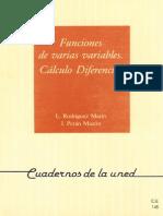 Funciones De Varias Variables Cálculo Diferencial-Uned-1995.pdf