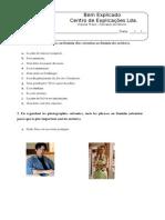 Ficha Formativa - Formation du Féminin (1).doc