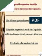 Dossier5 Pouvoir Et Gouvernance Dans Lorganisation