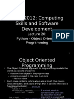 Lecture+20+-+Object+Oriented+Programming