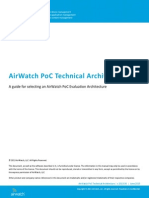 AirWatch PoC Technical Architecture