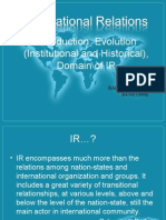 originandevolutionofinternationalrelations-130826064335-phpapp01