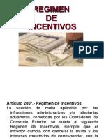 Regimen de Incentivos
