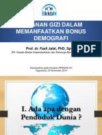 3 Fasli Jalal - Gizi & Bonus Demografi