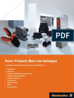 Weidmuller Power Products Catalogue