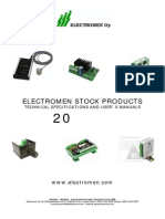 Electromen Product Catalogue 2014