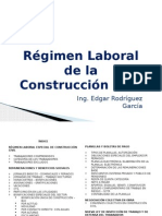 Regimen de Construccion Civil