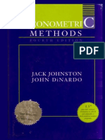 1997 [Jack Johnston, John Dinardo] Econometric Methods.pdf