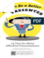You can do a better presentation
