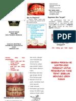 leaflet gigi mulut
