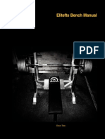 Elitefts Bench Press Manual by Dave Date