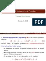 Hyper Geometric
