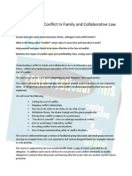 Understanding Conflict in Family and Collaborative Law