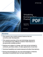 Virtualizing Exchange