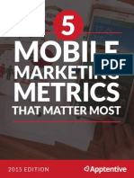 5MobileMarketingMetrics Guide