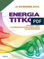 Alla Svirinskaya - Energiatitkok