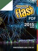 Catálogo Pirotecnia FLASH 2015
