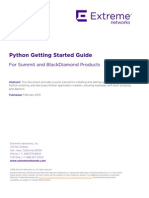 Python Getting Started Guide
