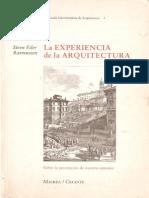 2RASMUSSEN_La Experiencia de La Arquitectura