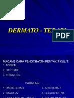Dermato - terapi
