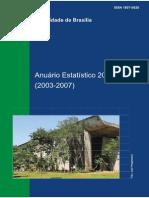 Anuario Estatistico 2008