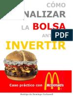 Como Analizar La Bolsa Antes de Invertir Caso Practico Con McDonald s