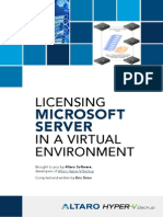 Microsoft Server Virtualization Licensing eBook
