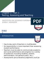 Chapter 1 Designing Assessment