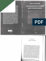 Detienne Marcel Los maestros de verdad en la Grecia arcaica Cap i II III IV v Vi Vii spanish