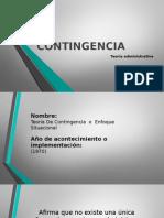 TEORIA DE LA CONTINGENCIA (ADMINISTRACIÓN)