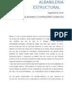 MONOGRAFIA Aisladores y Disipadores Sismicos 1