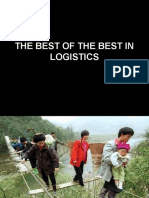 The Best of the Best in Logistics