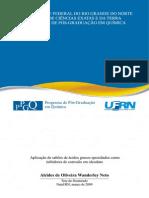 Tese Sobre Inibidores de Corrosão Em Oleodutos