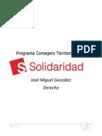 Territorial Derecho 2016  J.M González